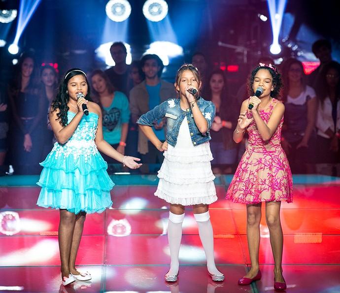 Júlia Ferreira, Laura Schadeck e Jamille Silva arrasam com sucesso de Taylor Swift  (Foto: Isabella Pinheiro/Gshow)