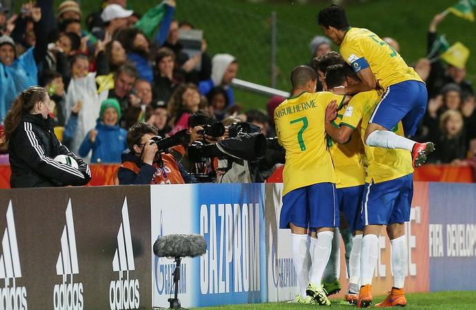 Brasil x Sérvia Mundial sub-20 - AP (Foto: AP)