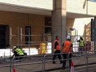 Entrada do hospital onde Kate Middleton dará à luz ganha proteção