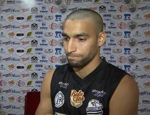 Richard Falcão, atacante do Comercial (Foto: Reprodução EPTV)