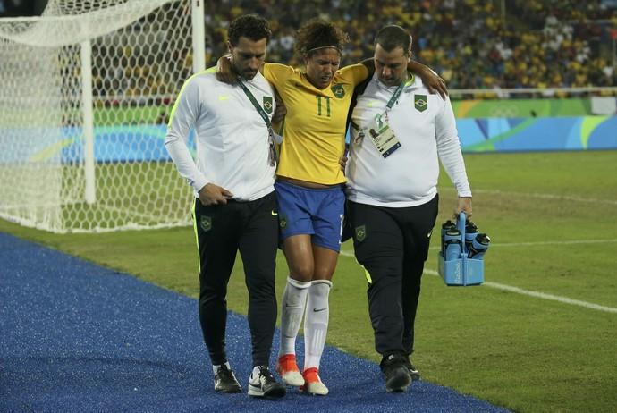 Cristiane Brasil x Suecia (Foto: Reuters)