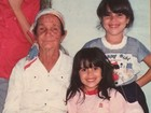 Wanessa e Camilla Camargo aparecem em foto quando crianças