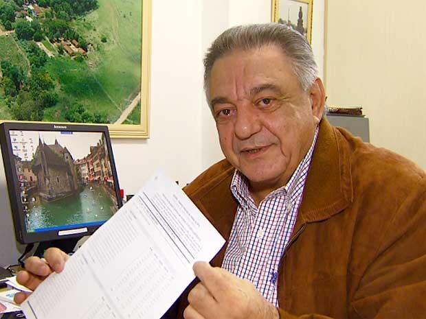 Pai de empresário morto após fazer ressonância magnética em Campinas recebe cobrança de R$ 1 mil de hospital (Foto: Reprodução EPTV)