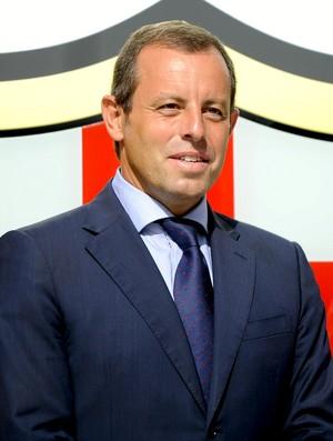 Sandro Rosell presidente Barcelona (Foto: Getty Images)