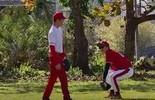 'Até lá': em SC, atletas de beisebol se preparam para Jogos de Tóquio  (Reprodução/RBS TV)