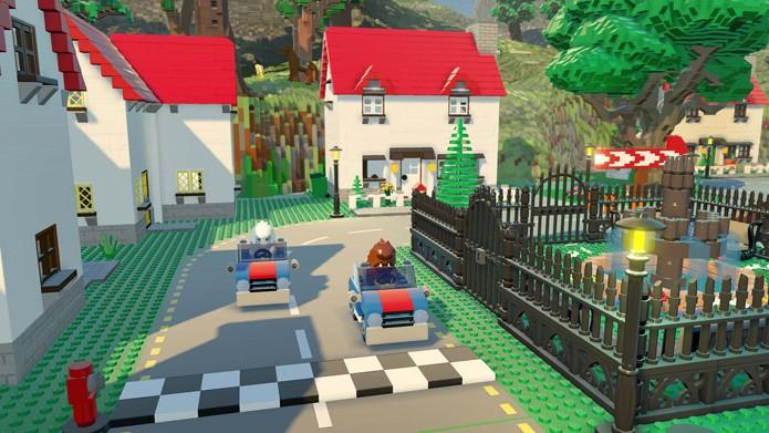 Construa novos mundos em LEGO Worlds (Foto: Divulgação/Warner Bros)