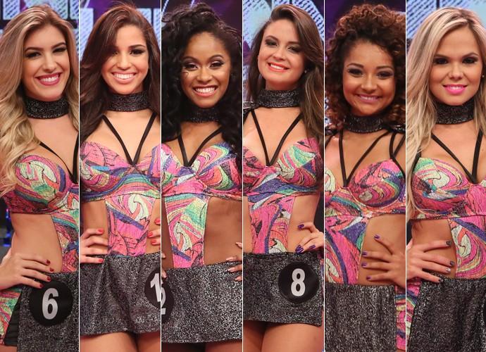 Conheça as seis finalistas do concurso Bailarina do Faustão (Foto: Gshow)
