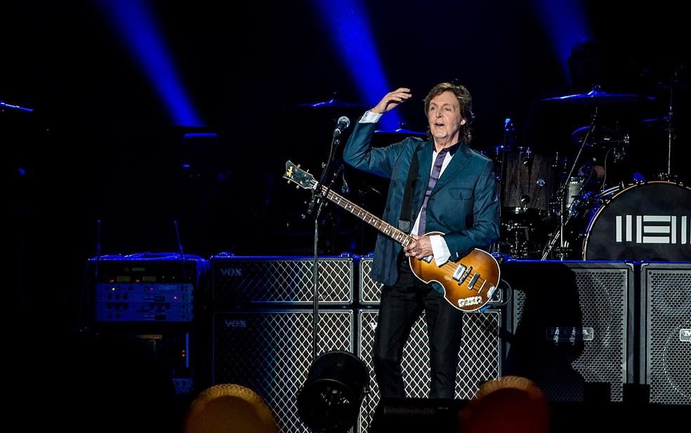 Paul McCartney deve se apresentar em Salvador neste ano (Foto: Marcelo Brandt/G1)
