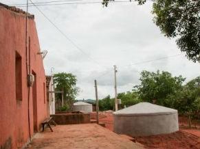 Cisterna construída no semiárido é uma tecnologia social (Foto: divulgação)