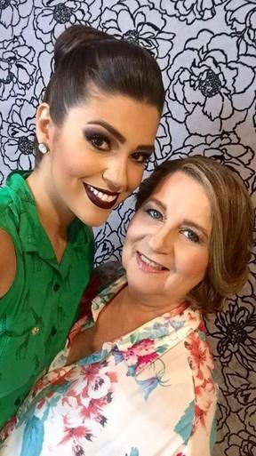 Vivian Amorim com a mãe, Vera Lucia (Foto: Reprodução/Instagram)
