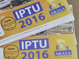 Prefeitura orienta sobre pagamento do IPTU em Araxá (Foto: PMA/Divulgação)