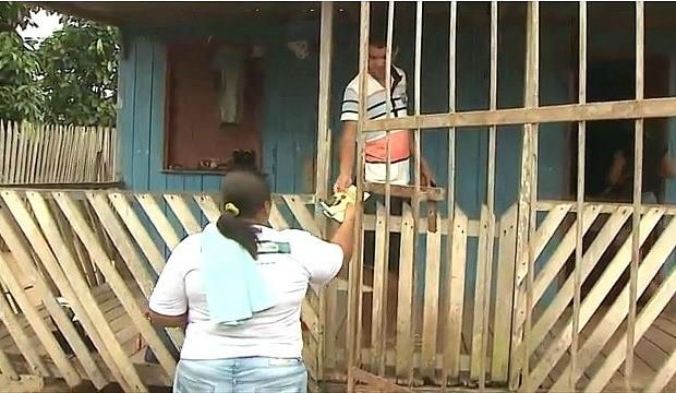 Campanha de combate à Tuberculose faz arrastões em bairros de Rio Branco (Foto: Jornal do Acre)