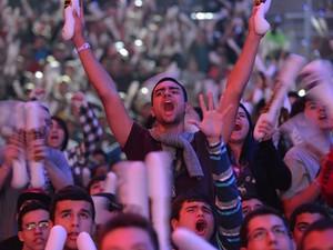 Torcida fez barulho na final de 'League of Legends' no Maracanãzinho (Foto: Bruno Alvares/Divulgação)