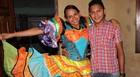 'São João nos uniu', diz casal do Piauí (Pedro Santiago/G1)