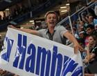Torcedor do Hamburgo comemora gol (Diego Guichard/GLOBOESPORTE.COM)