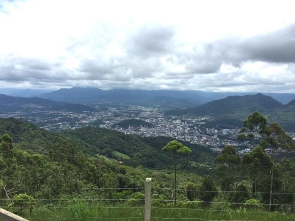 Jaraguá do Sul, considerada a cidade menos violenta do país em lista com municípios com mais de 100 mil habitantes (Foto: RBSTV)