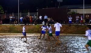 futebol de areia cidade de rio branco (Foto: Duaine Rodrigues)