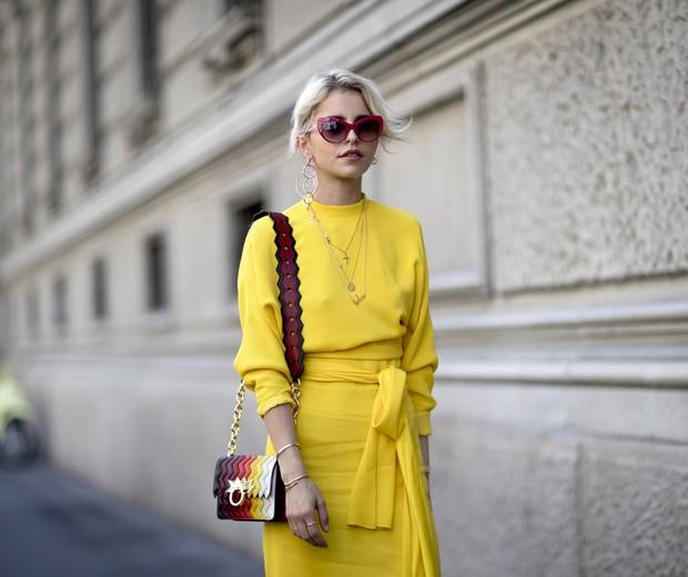 Amarelo primrose é tendência (Foto: Imaxtree)