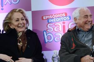 Luis Gustavo e Aracy Balabanian (Foto: VIVA)