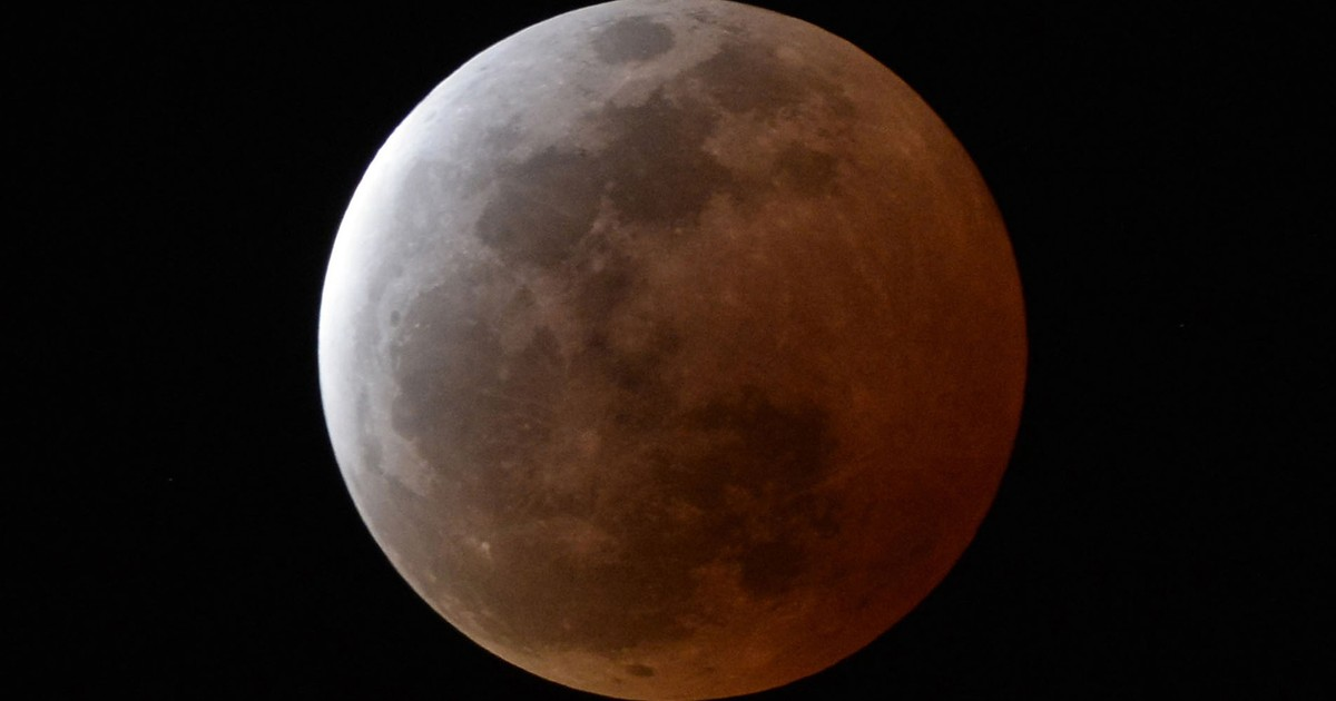 382b3e0ae G1 - Superlua e eclipse total ocorrem ao mesmo tempo na noite deste domingo  - notícias em Ciência e Saúde