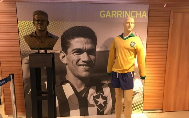 Visitação do Maracanã tour Garrincha