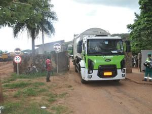 MPE investiga conduta do descarte de lixo de consórcio em Campo Grande (Foto: Fernando da Mata/ G1 MS)