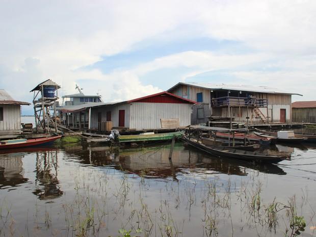 Cidade é uma das 23 em estado de emergência no Amazonas (Foto: Sérgio Rodrigues/G1 AM)