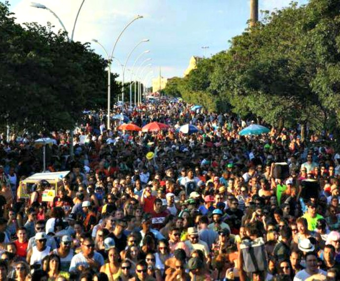 Império da Lã blocos Carnaval de Rua Mistura com Rodaika Inspiração (Foto: Divulgação/Império da Lã)