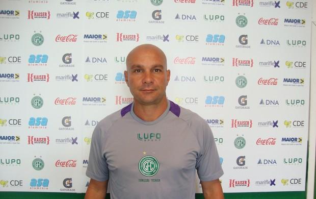 Luizinho Passos, novo preparador de goleiros do Guarani (Foto: Marcelo Tasso / Divulgação Guarani)
