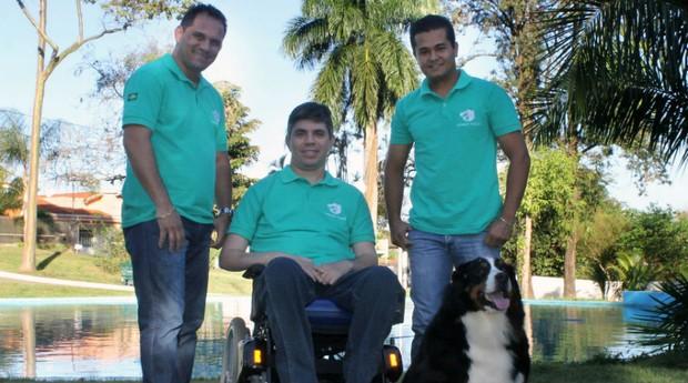 Os proprietários da Appet.tosa Marcelo Carvalho, Willian Carvalho e Luciano Tamura  (Foto: Divulgação)