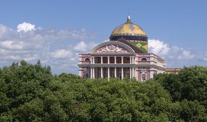 Rede Amazônica exibe série em homenagem ao Teatro Amazonas (Foto: Rede Amazônica)