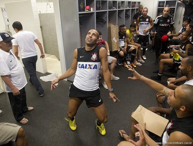 Corinthians Harlem Shake (Foto: Daniel Augusto Jr. / Ag. Corinthians)