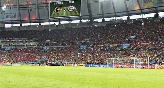 ESPANHA  X CHILE (Globoesporte.com)