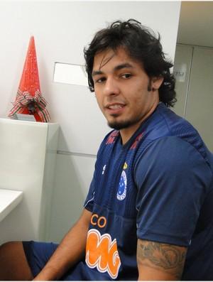 Ricardo Goulart faz exames em Belo Horizonte (Foto: Marco Antônio Astoni / Globoesporte.com)