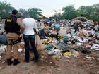 Fiscalização contra trabalho infantil flagra dois adolescentes em lixão