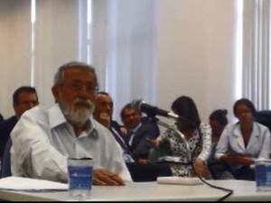 Waldomiro de Oliveira prestou depoimento nesta terça à Justiça Federal (Foto: Reprodução)