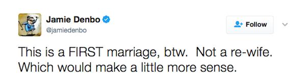 O desabafo da atriz Jamie Denbo (Foto: Twitter)
