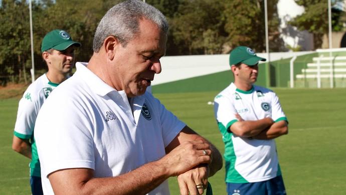 Hélio dos Anjos, técnico do Goiás (Foto: Rosiron Rodrigues/Goiás E.C.)