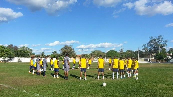 Equipe do Palmas se reapresenta nesta terça-feira (Foto: Divulgação/Palmas)