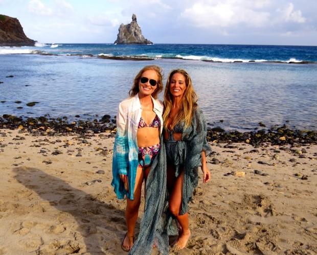 Angélica leva Danielle Winitts para conhecer o Pontal do Atalaia (Foto: Divulgação Ana Clara Marinho / TV Globo)