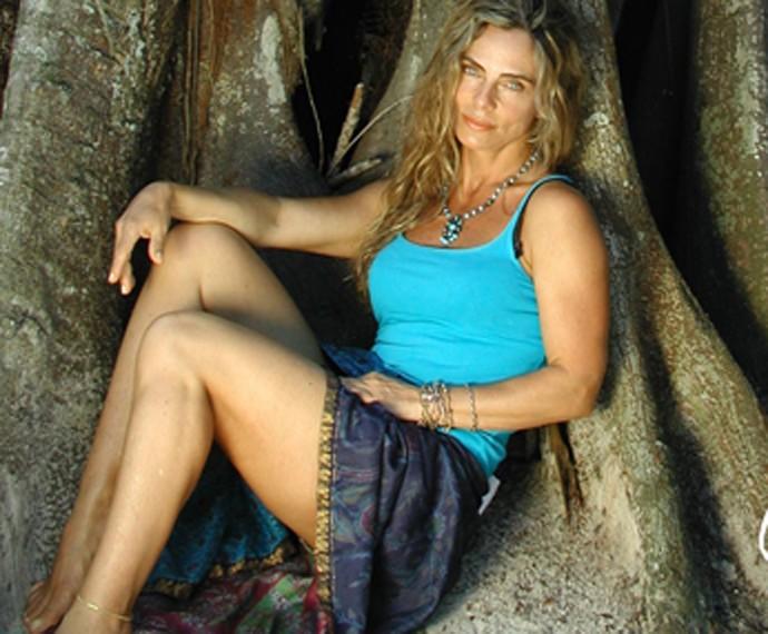 Bruna Lombardi posa sensual (Foto: Arquivo Pessoal)