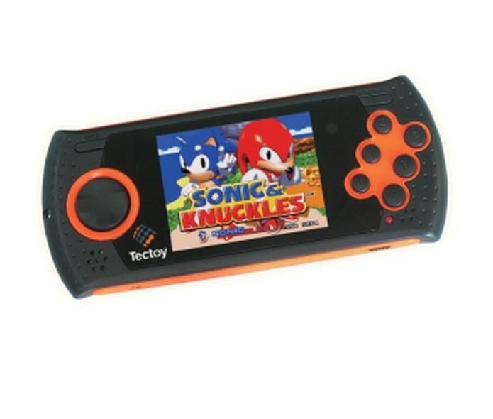 Mega Drive agora é um videogame portátil (Foto: Divulgação)