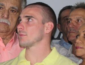 Arthur Zanetti, Centro Formação Olímpica (Foto: Juscelino Filho)