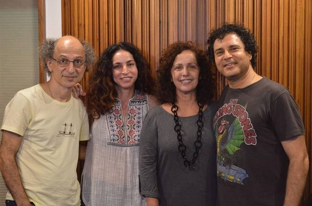 Tim Rescala, Rosane Svartman, Clélia Bessa e Frejat (Foto: Lucas Imbiriba)