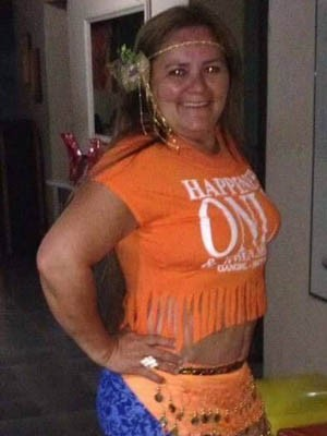 Rita de Cássia levou vários tiros e morreu no local (Foto: Arquivo Pessoal)
