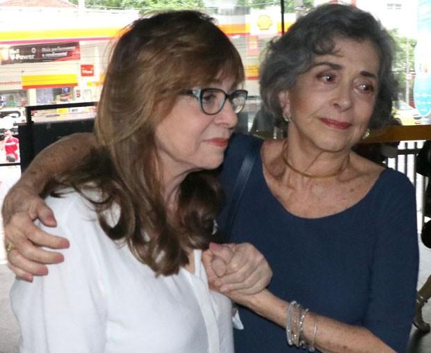 Glória Perez e Betty Faria (Foto: Daniel Pinheiro e Rogério Fidalgo/AgNews)
