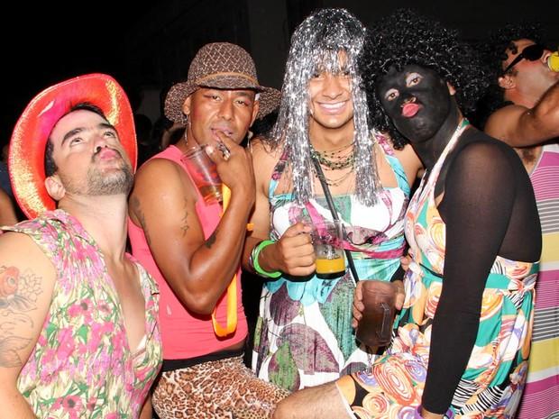 Bloco dos Trocados durante o carnaval em Cambuí, MG (Foto: Cristovam Silva / VC no G1)