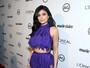 Kylie Jenner usa transparência em evento cheio de famosos