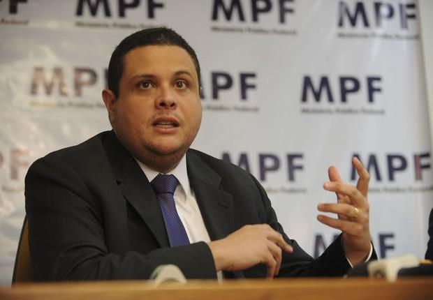 O promotor Eduardo Pelella, ex-assistente de Rodrigo Janot na Procuradoria-Geral da República (Foto: Agência Brasil)
