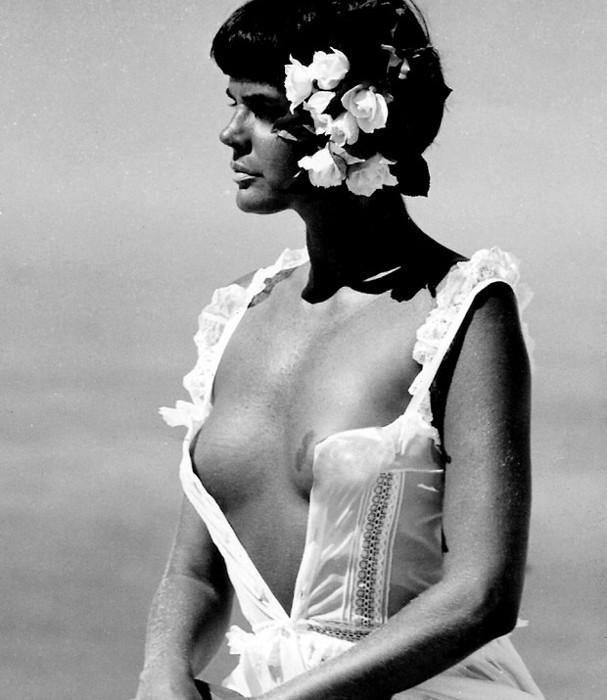 Monique Evans no auge de sua carreira como modelo (Foto: Wagner Carvalho)